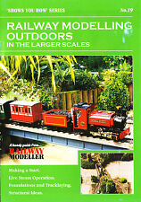 Peco SYH 19 The Railway Modeller Book Railway Modelling Outdoors 8 page Booklet
