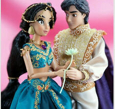 Disney Fairytale Designer Couples Aladdin and Jasmine Doll Set LE #369/6000