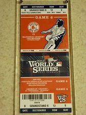2013 World Series Original Ticket - Red Sox vs. Cardinals Game 6