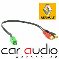 CT29RN01 Renault Twingo 05-11 Car Stereo MP3 iPod iPhone Aux In Interface Cable