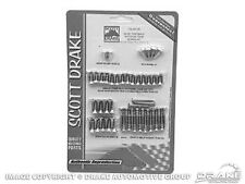 Mustang 64-66 Fastback Interior Trim Screw Kit