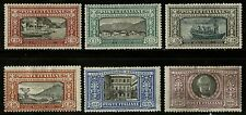 Italy  1923  Scott # 165-170  MLH Set