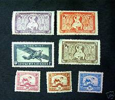 GREAT ANTIQUE INDOCHINE STAMPS SPECIAL INDOCHINA STAMPS