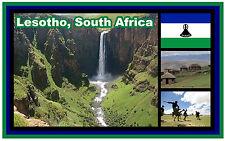 LESOTHO, SOUTH AFRICA - SOUVENIR NOVELTY FRIDGE MAGNET - BRAND NEW - GIFT
