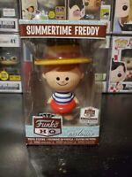 Funko Vinyl Figure Retro Summertime Freddy Funko Shop Exclusive Limited Edition
