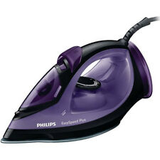 Philips Easy Speed Purple & Black GC2048/80 Steam Iron 2300 W Ceramic Soleplate