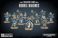 Thousand Sons Rubric Marines Chaos Space Marines Warhammer 40k