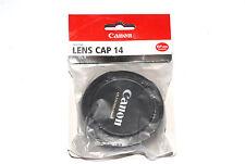 Canon OBIETTIVO COPERCHIO ef-14l II Lens Cap Per EF 14mm/2.8l II USM (nuovo/scatola originale)