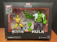Marvel Legends 80 Years Wolverine & Hulk 2 Pack EM7355