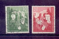 Bund 1953 - Jugendplan - MiNr. 153/154 gestempelt - Michel 45,00 € (310)