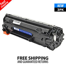 3PK CE285A 85A Black Toner Cartridge for HP LaserJet M1217nfw MFP P1102W