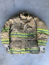 Firefighter Globe Turnout Bunker Coat 43x29 G Xtreme 2008 No Cut Out