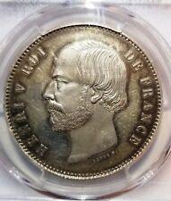 1871 France 5 Francs - PCGS SP62 ESSAI PROOF - EXTREMELY RARE! MAZ-926