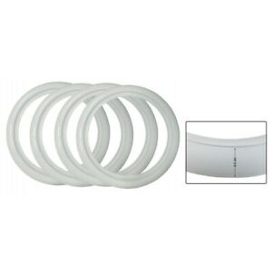 """Set 4 White Wall Insert Sidewall Car 16"""" with 4.5cm white fit any car vw beetle"""