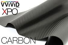 "VViViD Black Dry Carbon Fiber 3"" x 4"" sample car vehicle wrap Vinyl sheet film"
