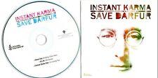 THE SONGS OF JOHN LENNON - Instant Karma - (3 Track Promo CD) Green Day / R.E.M.