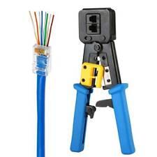 Rj45 Crimper Crimping Tools Network Pliers for Cat5e Cat6 Cables Connector Plugs