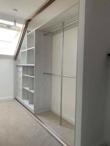 Loft Bespoke Design Fitted Internal Wardrobe Storage.  Made To Measure