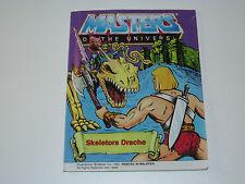 MOTU HE-MAN MASTERS OF THE UNIVERSE MINI COMIC 1984 SKELETOR'S DRAGON  DE IT MAL