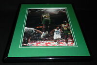 Shawn Kemp 1993 Framed 11x14 Photo Display Sonics vs Hornets