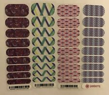 Jamberry Nail Wraps Half Sheet Retired Hostess Exclusives Lot #7