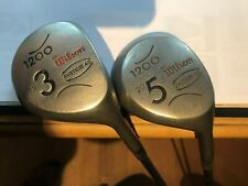 wilson system 45 1200  woods 3 and 5 both in good order