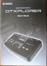 Yamaha DTXplorer Drum Trigger Module Original Owner's Manual Operation Book
