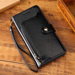 Magnetic Flip Zipper Wallet PU Leather Case For Samsung Galaxy S20 Fan Edition 4