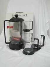 Bodum L1558 Basic Brazil French Press Set 1.75 Pint 2 Mugs & Plunger