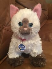 """Build-A-Bear Siamese Cat Himalayan Promise Pets 11"""" Plush Red Collar W/ Sound"""