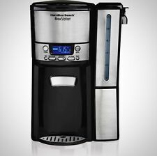 12-Cup Restaurant Coffee Maker Machine Home Office Silver Black Brew-station New