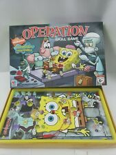 Spongebob Squarepants Operation Game Sponge Bob Silly Skills Buzzer ISSUE