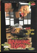 Sergio Lapel's Drawing Blood (DVD) TROMA Release