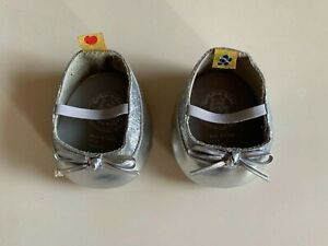 Build-A-Bear Workshop silver shoes