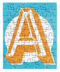MOSES Mini Buchstaben Puzzle 50 Teile A-Z Einschulung Kind Geschenk Junge Mädche