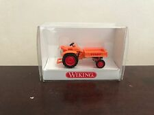 "WIKING 1:87 / HO SCALE 8994125 FENDT TOOL CARRIER ""ORANGE"" CLASSIC TRACTOR"