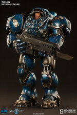 Sideshow Collectibles TYCHUS 1/6 Scale Figure StarCraft II Blizzard Marine NEW