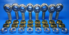 """4-LINK 3/8""""-24 THREAD x 3/8 BORE, JAM NUTS & CONE SPACERS, ROD END / HEIM JOINT"""