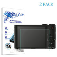 2-Pack For Sony H90 WX150 WX300 WX350 Tempered Glass Screen Protector