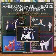 AMERICAN BALLET THEATRE IN SAN FRANCISCO (Laser Disc)