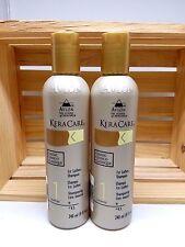 KERACARE 1ST LATHER SHAMPOO CLASSIC 8OZ SET(2 BOTTLES)+FREE CLEANSING WIPE