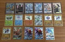 Pokemon Hidden Fates Cynthia Full Art SV82/SV94 Bundle Lot Shiny Holo Rares GX's