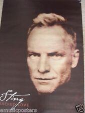 "Sting ""Sacred Heart"" Giant Subway Australian Poster-Head Shot of Police Frontman"