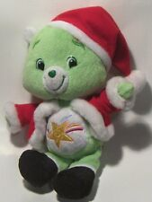 "Plush  Stuffed Animal   Oopsy ""Care Bear""  - Santa Hat & coat - 2007"