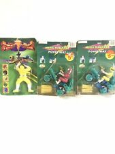 Vintage Mighty Morphin Power Rangers Mega Rangers New In Package With Defects