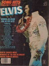 Song Hits Magazine Tribute To Elvis Presley 100 Hits Winter 1977 012418nonr