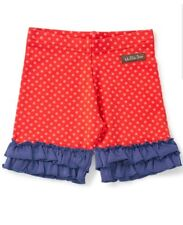 Matilda Jane Shortcut Shorties Shorts Size 12 NWT In Bag Wish You Were Here Red