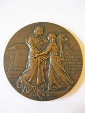 Medaille République Mulhouse 100 anniv. réunion France 1798-1898 F.VERNON Alsace