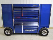 Snap On Blue TUV Pit Box Tool Wagon & Chest Tool Box  - WE SHIP