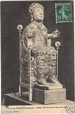 75 - cpa - Trésor de CONQUES - Statue d'or de Ste Foy ( i 4499)